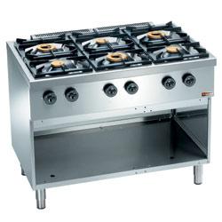cuisinière 6 becs gaz