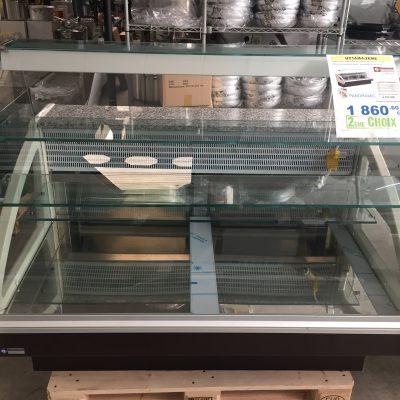comptoir frigo pour pâtisserie