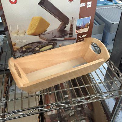 raclette pour demi roue de fromage